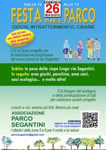 domenica 26 maggio in via Segantini
