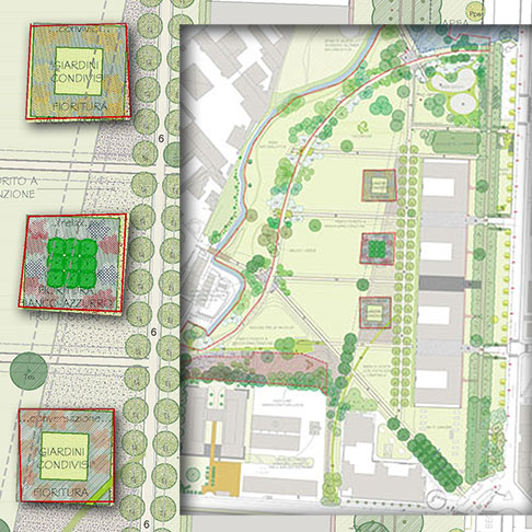 Progetto giardini edibili orti collettivi for Giardino 30 mq progetto
