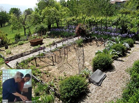 APS Mangiarebene3 Paola e giardino